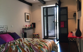 Chambre Ô en couleurs au rez de chaussée - Royan - Charente maritime