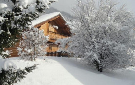 Chalet vue Mont Blanc