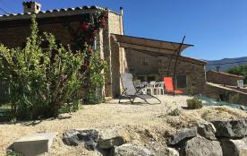 Maison individuelle en Drome Povençale à Sainte Jalle aux Estangs