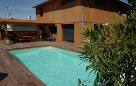 Maison pour 9 pers. avec piscine privée, Hourtin