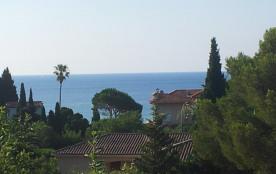 Appartement à 200 m des plages avec terrasse avec vue sur mer