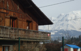appartement RDC vue s/ Mt -Blanc