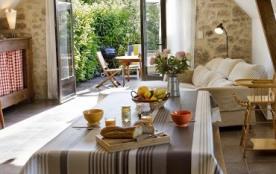 Le sejour avec sa terrasse
