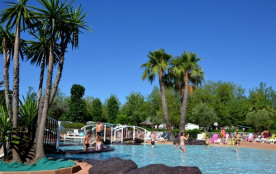 Camping Les Salisses - MH 3ch 6/8pers + Terrasse Bois Couverte