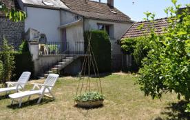 Le gîte - Côté jardin