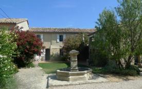 Mas à louer en Provence, Vaucluse proche Uchaux parc avec piscine privée.