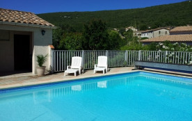 Location vacances Sud Cévennes - Maison avec piscine privative-