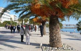 Promenade view in St Laurent du Var
