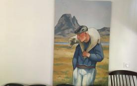 détail tableaux berger des pyrénéen