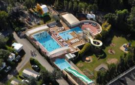 Camping de la Plage - Chalet SPECIAL ACCESS 35m² 2 chambres + terrasse couverte (adapté aux perso...