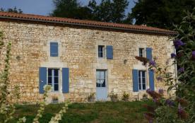 Façade du Cantou, Chez Lavaud, Grassac