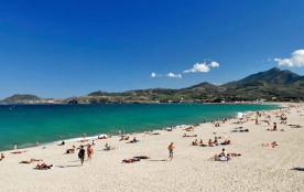 La plage d'Argeles