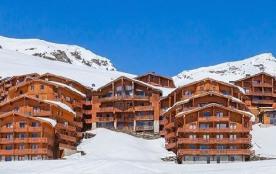 2 pièces 2/4 personnes - de 33m² à 36m² - Située dans les hauteurs de la station de Val Thorens, cette résidence auth...