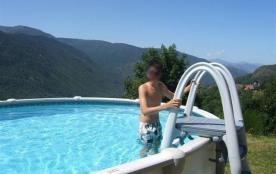 piscine privée 8 * 4.57 m l'été