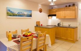 Appartement 3 pièces mezzanine de 64 m² environ pour 6 personnes, la Résidence Le Charvet est sit...