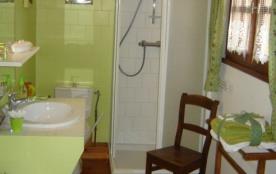 """Salle de bain de la chambre """" Olives """""""