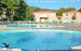 villa 3 * 62 m² climatisé 2 chambres piscines wifi ancv proche mer