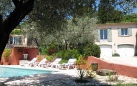 Location Gîte avec piscine en Provence, Vaucluse, - Villedieu