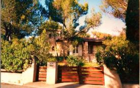 Jardin paradis mer piscine Provence