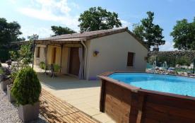 Gîte Lila - Très belle maison indépendante située sur les hauteurs de Vagnas, à 5 minutes de Vall...