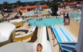 Camping Le Soleil de la Méditerranée 4* - Cottage Confort TV Clim - 2 chambres – 4 adultes + 2 en...