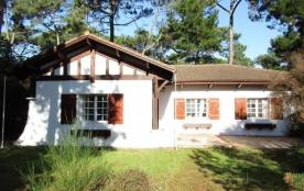 Maison indépendante 7 personnes - 4 chambres - jardin clos - 40600 Biscarrosse Plage