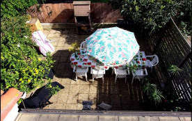 vue de la terrasse depuis la chambre 2