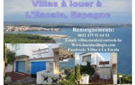 Villas à louer à La Escala...