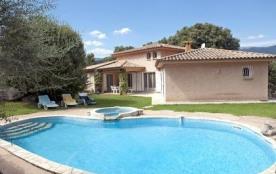 Villa DP Pigna - Jolie villa de plain pied et indépendante avec piscine privée profitant d'une si...