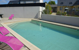 Agréable maison de 55 m² avec piscine partagée dans un cadre agréable proche de la mer