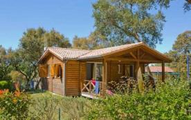 Camping du Lac - Chalet Prestige 2Ch 5pers + Terrasse Couverte
