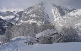 Le gite de la Villette sous la neige
