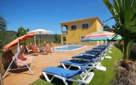 Villa CV Joce - Ravissante villa pour 10 personnes située à Lloret de Mar et avec l'accès Interne...