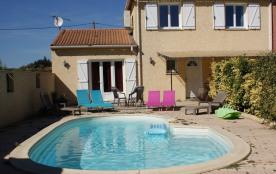 Abeilhan (34) - Maison avec piscine pour 8 personnes