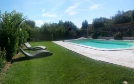 Vacance entre Luberon, Mont Ventoux et Alpilles. Gite climatisé piscine jardin.. - Châteauneuf de Gadagne