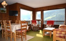 Appartement 3 pièces de 55 m² environ pour 7 personnes, la Résidence Le Grizzli est située dans l...