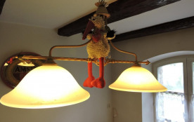 La cigogne alsacienne du gîte ...