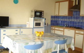 Joli appartement au 1er étage pour 6 personnes situé dans le quartier plage