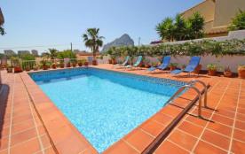 Almendros, Miada - Villa à Calpe / Calp qui possède 3 chambres et capacité pour 7 personnes.