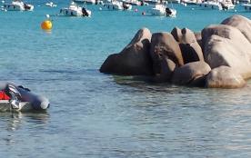 La plage a santa guilia, proche centre nautique....