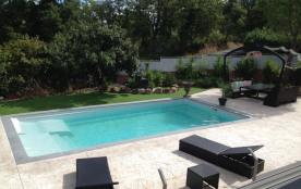 Vue de la suite sur la piscine