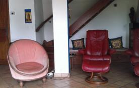 salon et fauteuils stressles