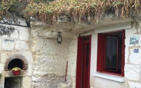 Gîtes de France - Gîte troglodytique situé sur le côteau de St André à Villiers sur Loir.