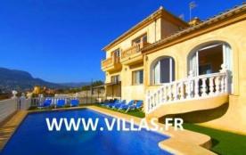 Villa OL Vera - Jolie villa pour 16 personnes avec piscine privée, située à Calpe.