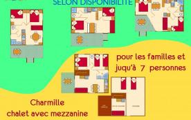 Plans des chalets vacances La Noyeraie