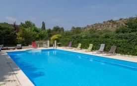 location gite 7/8 personnes piscine privée - Saint Remèze