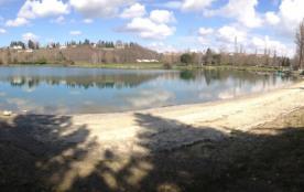 Lac de Montréjeau à 1 km