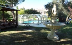 Villa Isis Avignon avec piscine et jacuzzi
