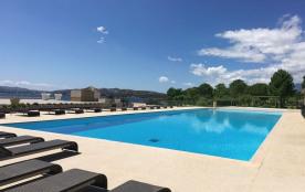 MINI VILLA de 80 m² pieds dans l'eau avec vue mer, piscine, tennis, plage et port privé