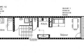 Appartement duplex 2 pièces 5 personnes (C29)